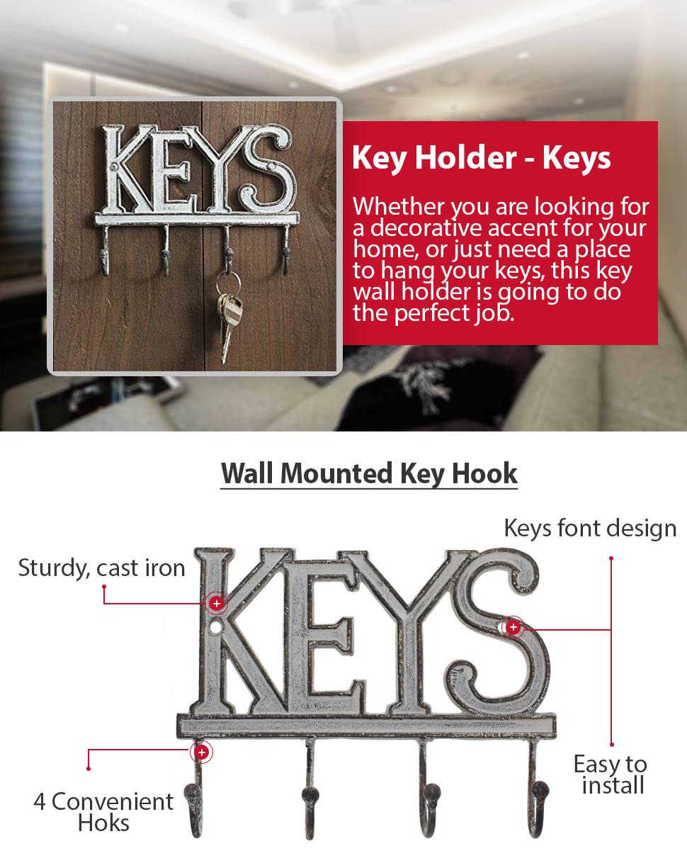 Key Holder For Wall Amazoncom Key Holder Keys Wall Mounted Western Key Holder