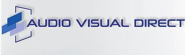 Audio Visual Direct Logo On a Glass Board