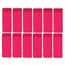 rubber pink bevel small rectangular erasers in bulk wholesale bundle school supplies kids papermate