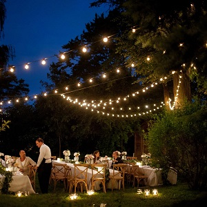 quality design 91c66 c133d 100 Foot Outdoor String Lights - 105 G50 Clear 2