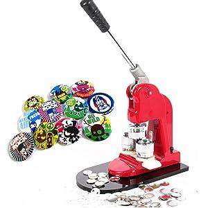 mophorn button maker 1 inch 25mm button maker machine 1000pcs button