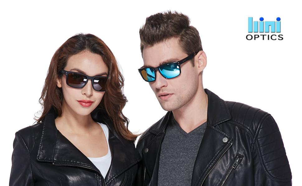 61221b179e Amazon.com  B.N.U.S Retro sports sunglasses for men women fashion ...
