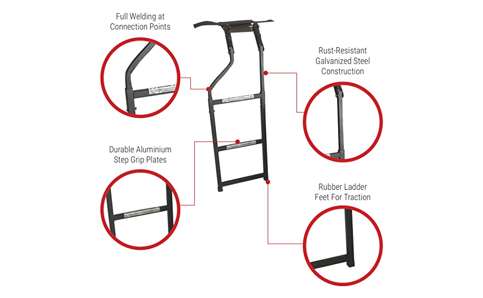d21c2e18 a5bf 4d98 b955 c4382a7d94e4._CR0020201249_PT0_SX970__ amazon com beech lane pickup truck tailgate ladder universal fit