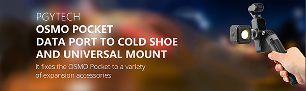 SMO Pocket Data Port to Cold Shoe and Universal Mount