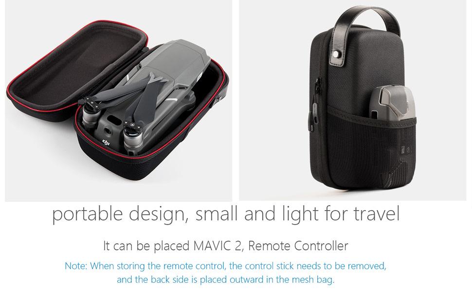 Portable Carrying Case Mini for DJI Mavic 2 Pro/Zoom