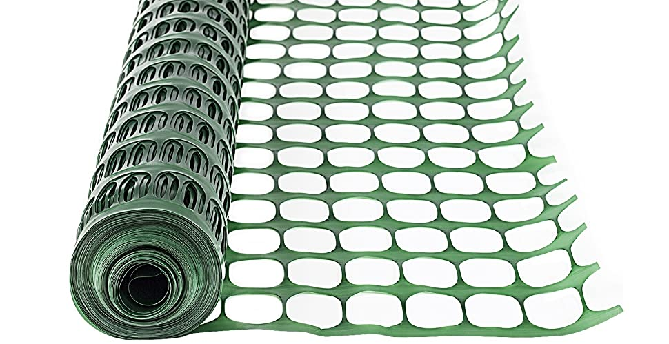 Amazon Com Houseables Snow Fence Mesh Temporary Fencing