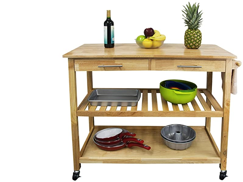 Freestanding Kitchen Carts (also Called Trolleys Or Islands, Based On Style  And Size Variation) Instantly Provide Extra Work And Storage Surface And Is  A ...
