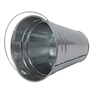 metal bucket tin pail galvanized