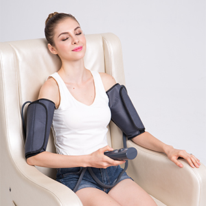CINCOM Massager is Helpful for RLS and Edema