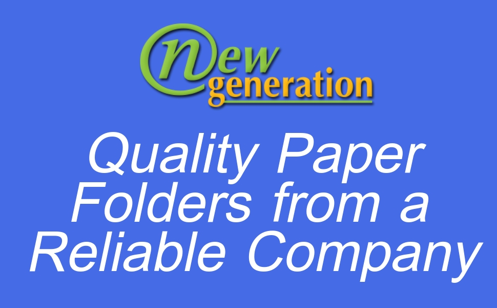 New Generation Black 2 Pocket Folders Durable Heavy Duty High Gloss Presentation Hold Letter Size Sheets With A Die Cut Business Card Holder