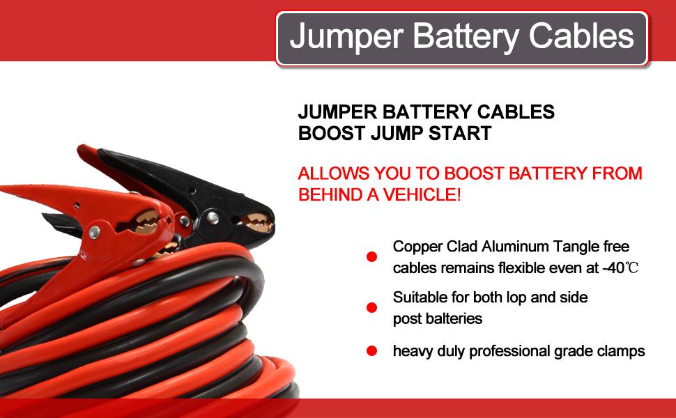 Heavy Duty Jumper Battery