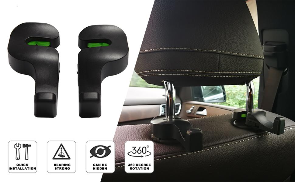 car back seat hook