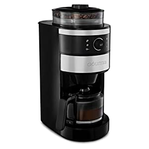Product image of the Grind and Brew Coffee Maker from Gourmia.