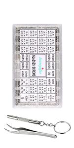 Amazon.com: bayite Kit de reparación de anteojos con ...