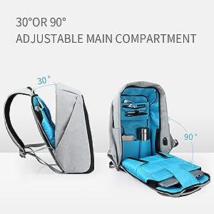 Amazon.com: Oscaurt Anti-theft Travel Backpack Business