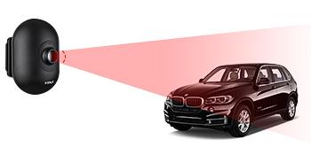 Vehicle detection environment