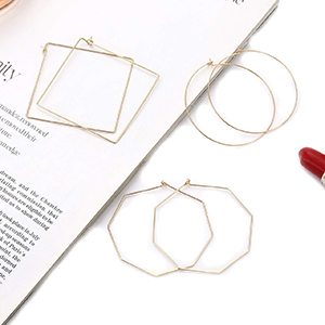 thin wire hoops