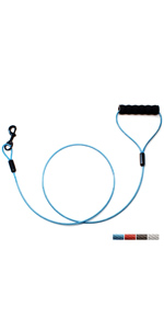 baapet_chew_proof_cable_dog_leash_blue