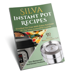 3h5nshWnS6GY. UX300 TTW Silva Stackable Pressure Cooker Accessories Compatible with Instant pot 6 qt + 2 Lids + Safety Handle+ Recipe E-Book - Pot in Pot Food Steamer Inserts Pans    Product Description