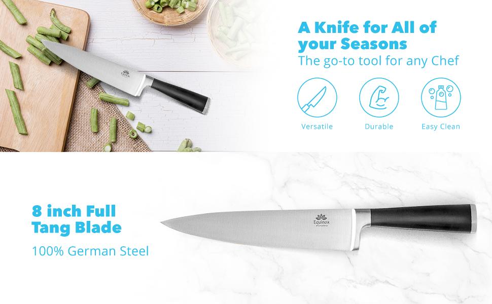 Amazon Com Equinox Professional Chef S Knife 8 Inch