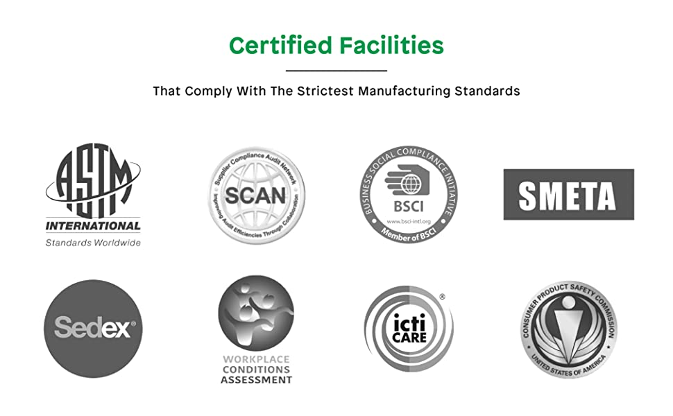 Certified Facilities