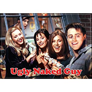 """Ata-Boy Friends Ugly Naked Guy 2.5"""" x 3.5"""" Magnet for Refrigerators and Lockers"""