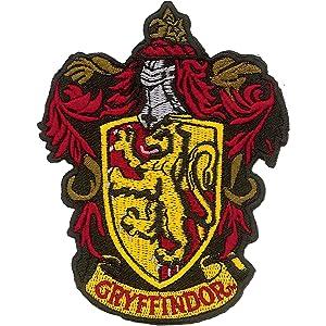 Ata boy harry potter gryffindor crest 3 full color iron on patch clothing - Gryffondor blason ...