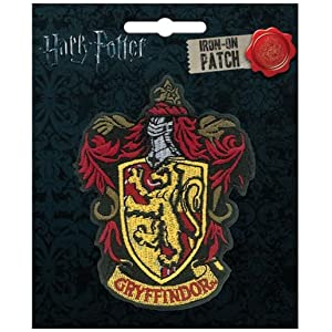 """Ata-Boy Harry Potter Gryffindor Crest 3"""" Full Color Iron-On Patch"""