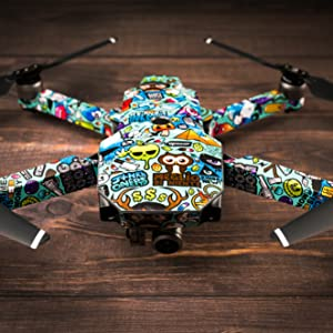 5b2c7b263bd Amazon.com: Digital Urban Camo Decal for Drone DJI Mavic Pro Kit ...