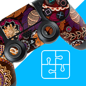 PS4 CONTROLLER SKIN COMPATIBLE WITH ALL CABLES