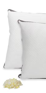Adjustable Support Shredded Memory Foam Pillows