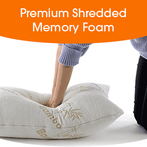 Amazon.com: Shredded memoria espuma Cuerpo almohada | Cheer ...