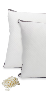 Adjustable Support Shredded Latex Pillows