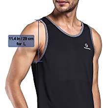 workout tank tops mens gym black tank tops