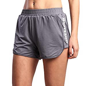 fitness gym yoga shorts running women