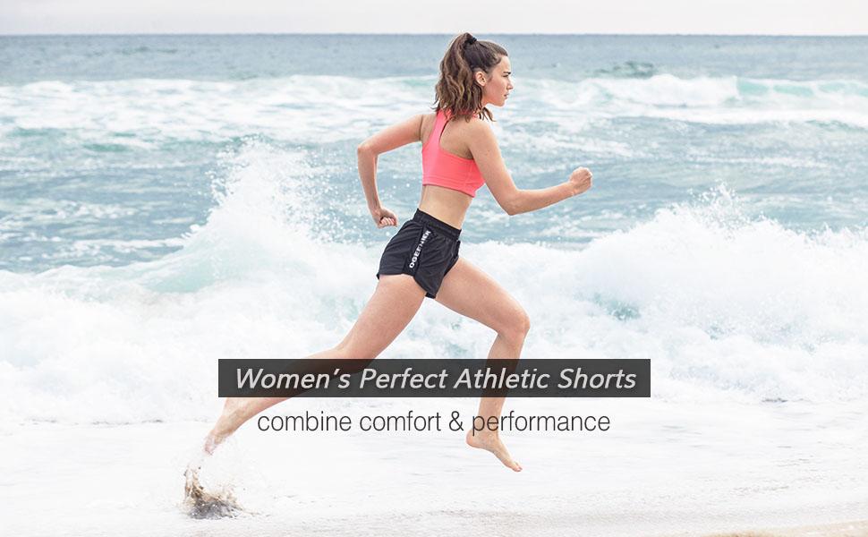 womens athletic shorts running shorts yoga shorts beach shorts mesh sports short 3 inch shorts
