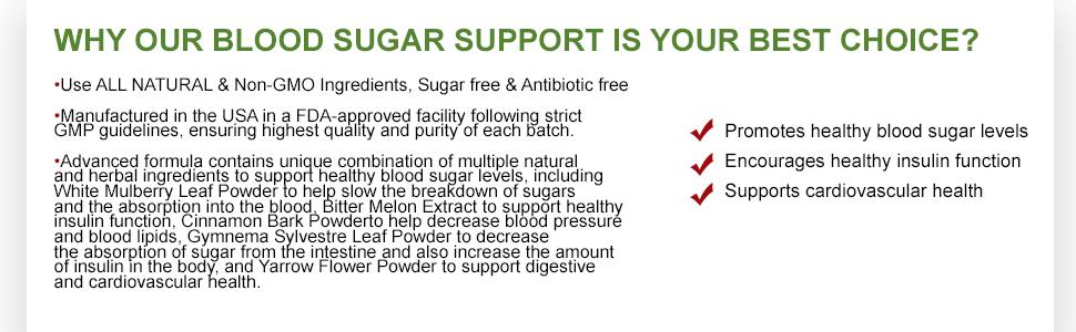 Nature's Present Blood Sugar Support-Effective Blood Sugar Control