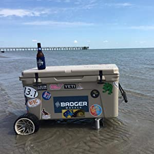 Badger Wheels great for the beach