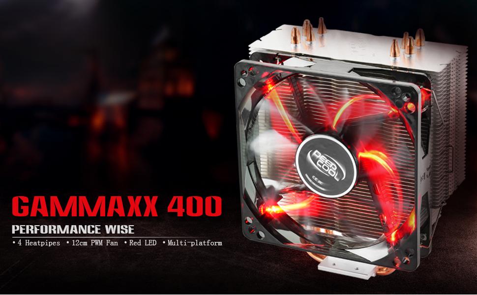 gammaxx 400 red