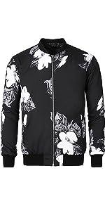 """Bomber Jacket, Floral Print Jacket, Printed Jacket"""