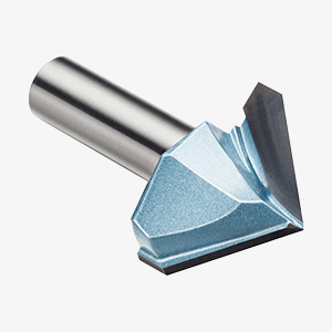 Yonico 14997 120 Degree X 1-Inch Diameter V Groove Router Bit 1//2-Inch Shank
