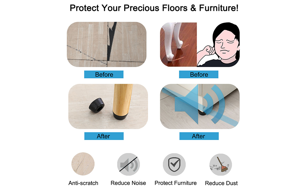 protect your precious floors and furniture