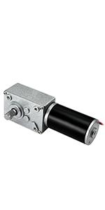 DC12V Ultra Low Speed Turbine Electirc Worm Reduction Gear Motor High Torque WCV