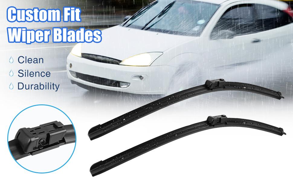 Chevrolet Silverado 1500 2500HD 3500HD windshield wiper blades