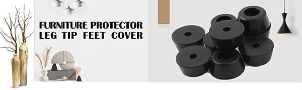 Feet Bumpers Furniture Table Amplifier Speaker Cabinet Leg Pads,