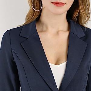 KLJR Men Casual Long Sleeve Printing Lapel One Button Business Coat Jackets Blazer