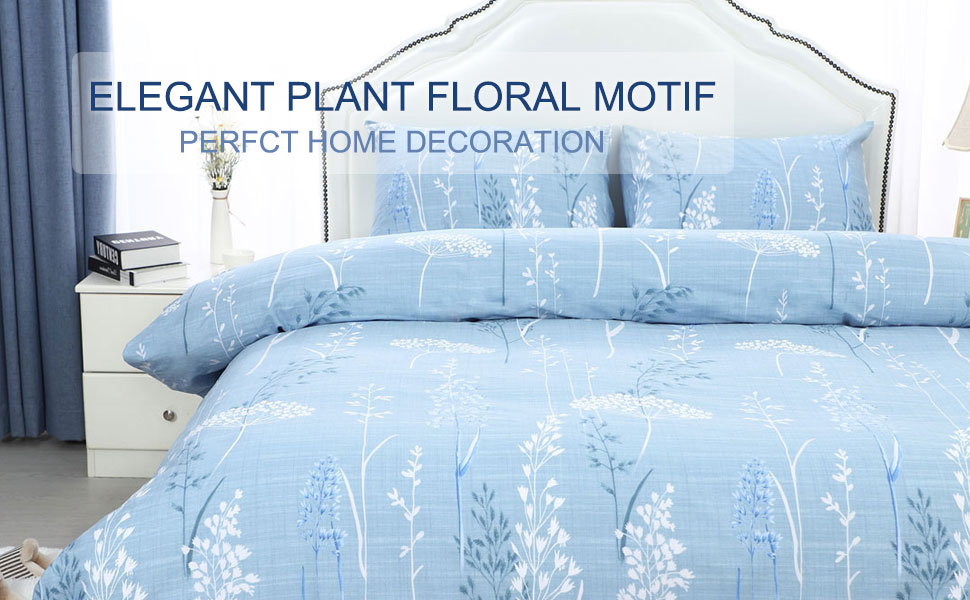 queen comforter set blue floral duvet cover king twin size bedding sets quilts queen size gray duvet