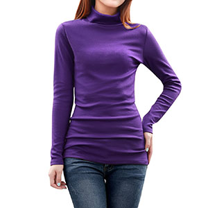 e933fe0c02 Find pure comfort throughout your day with this versatile Long Sleeve  turtleneck shirt