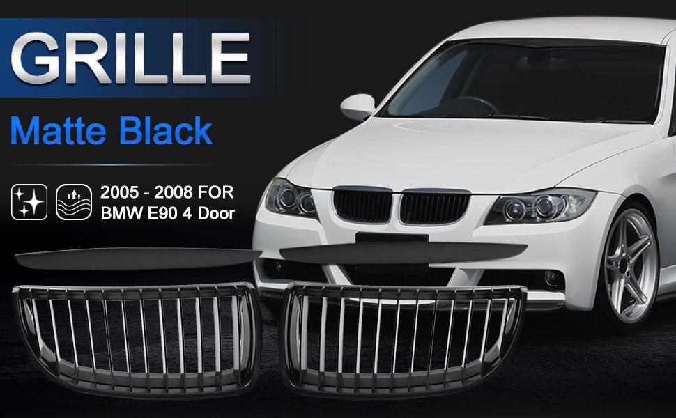 DEPO Right Bumper Grill Cover Fits BMW E90 Sedan 2005-2007