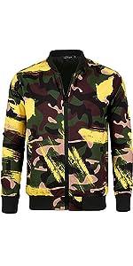 Bomber Printed Jacket